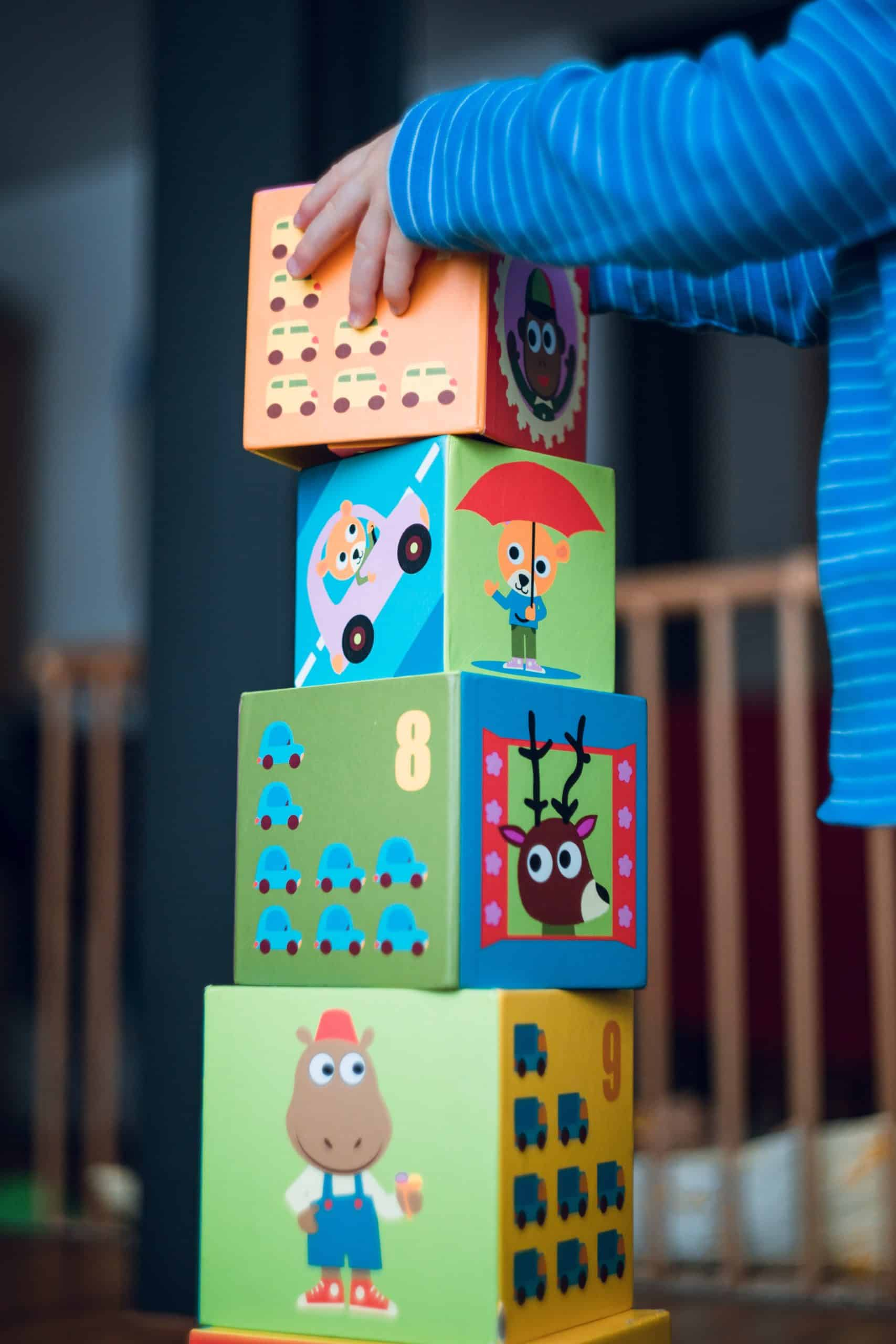 Treat Low Self Esteem With Toddlers Play Blocks