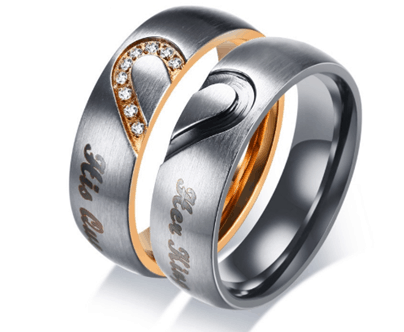 Promise Rings For Couples Elegant Accessory